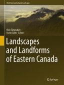 Landscapes and Landforms of Eastern Canada Pdf/ePub eBook