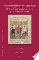 Doctrinal Instruction in Early Islam