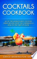 Cocktails Cookbook Book