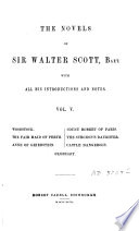 The Novels of Walter Scott