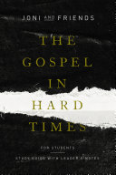 The Gospel in Hard Times for Students Pdf/ePub eBook