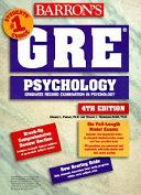 Barron s GRE Psychology