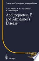 Apolipoprotein E and Alzheimer   s Disease
