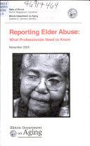 Reporting Elder Abuse
