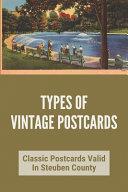 Types Of Vintage Postcards