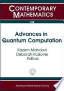 Advances in Quantum Computation Book