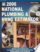 2006 national plumbing hvac estimator. Resume Example. Resume CV Cover Letter