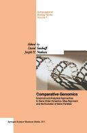 Comparative Genomics Pdf/ePub eBook