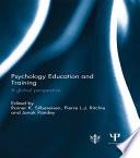 Psychology Education And Training