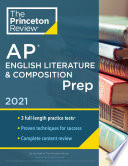 Princeton Review Ap English Literature Composition Prep 2021 Book PDF