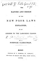 The Neglect and Profanation of the Sabbath, Their Own Punishment. Second Edition. By a Clergyman of the Church of England [S. Hobson?].