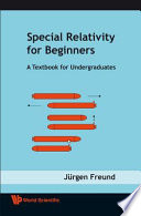Special Relativity for Beginners  : A Textbook for Undergraduates