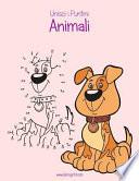 Animali in Stile Unisci I Puntini Per Bambini