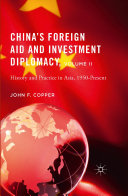 China's Foreign Aid and Investment Diplomacy, Volume II Pdf/ePub eBook