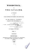 Woodstock Or The Cavalier Book PDF