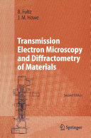 Transmission Electron Microscopy and Diffractometry of Materials Pdf/ePub eBook