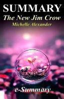 Summary   The New Jim Crow Book