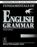 Fundamentals Of English Grammar Book