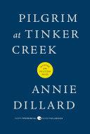 Pilgrim at Tinker Creek Pdf/ePub eBook