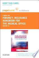 Insurance Handbook for the Medical Office - Pageburst E-book on Vitalsource