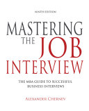 Mastering the Job Interview  9th Edition