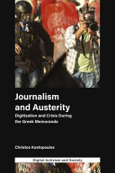 Journalism and Austerity