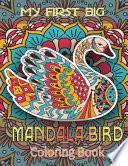 My First Big Mandala Birds Coloring Book