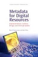 Pdf Metadata for Digital Resources