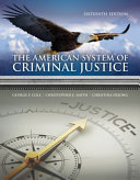 The American System of Criminal Justice   Mindtap Criminal Justice  1 Term 6 Months Access Card