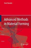Advanced Methods in Material Forming [Pdf/ePub] eBook