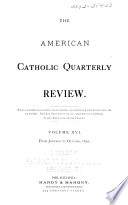 The American Catholic Quarterly Review