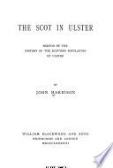 The Scot in Ulster Book