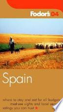 Fodor's Spain 2004