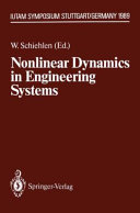 Nonlinear Dynamics In Engineering Systems Book PDF
