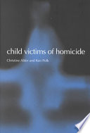 Child Victims of Homicide Book