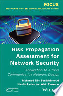 Risk Propagation Assessment for Network Security Book