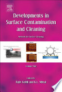 Developments In Surface Contamination And Cleaning Volume 8 Book PDF