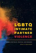 Pdf LGBTQ Intimate Partner Violence