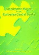 Econometric Models of the Euro area Central Banks