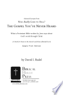 Selected Excerpts From Who Really Goes To Hell The Gopsel You Ve Never Heard