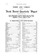 The Irish Jurist  Together with the Irish Jurist Reports