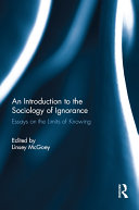 An Introduction to the Sociology of Ignorance Pdf/ePub eBook