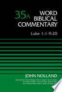 Luke 1 1 9 20 Volume 35a