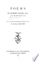 Poems by Robert Wilde [sic] with a Historical and Biographical Pref. and Notes