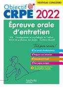 Pdf Objectif CRPE 2022 : épreuve orale EPS, Développement de l'enfant, Métier de professeur des écoles Telecharger