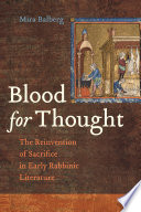 Blood for Thought Book