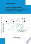 Synthese organischer Bausteine für kovalent gebundene, poröse Netzwerke über Nitroxid-Austausch-Reaktion
