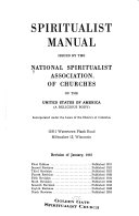 Spiritualist Manual