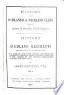 History Of The Highlands Highland Clans Book PDF