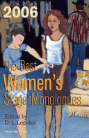 The Best Women s Stage Monologues of 2006
